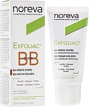Parfémy, Parfumerie, kosmetika Korekční krém pro tmavou pleť - Noreva Laboratoires Exfoliac BB Cream Anti-imperfection Tinted Care