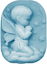 Parfémy, Parfumerie, kosmetika Glycerinové mýdlo Dětská láska - Bulgarian Rose Glycerin Fragrant Soap Blue Angel