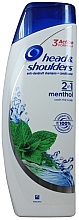 Parfémy, Parfumerie, kosmetika Šampon na vlasy - Head & Shoulders Anti-dandruff menthol fresh 2in1 Shampoo