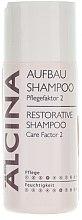 Parfémy, Parfumerie, kosmetika Obnovující šampon pro poškozené a porézní vlasy - Alcina Care Factor 2 Restorative Shampoo