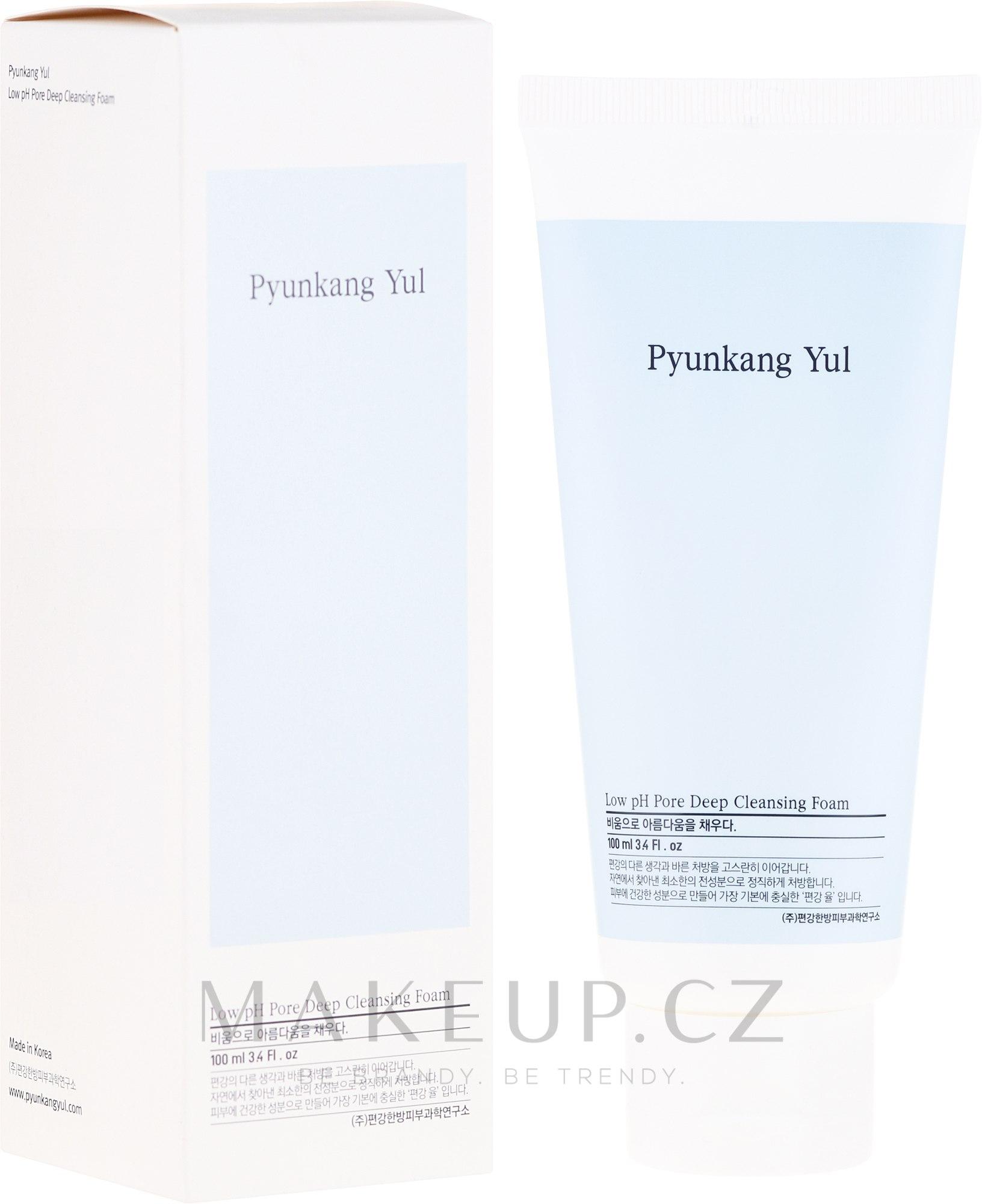 Hluboce čisticí pěna s nízkým pH - Pyunkang Yul Pore Deep Cleansing Foam — foto 100 ml