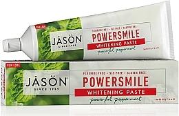 Parfémy, Parfumerie, kosmetika Bělicí zubní pasta - Jason Natural Cosmetics PowerSmile All Natural Whitening Toothpaste