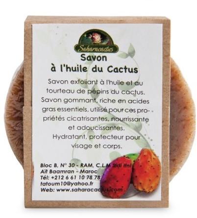 Mýdlo s olejem opuncie fíkové - Efas Saharacactus Opuntia Ficus Soap