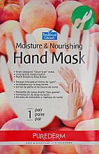 Parfémy, Parfumerie, kosmetika Hydratační a výživná maska-rukavice na ruce - Purederm Moisture & Nourishing Hand Mask