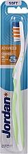 Parfémy, Parfumerie, kosmetika Zubní kartáček Advanced, bez krytu, světle zelený - Jordan Advanced Soft Toothbrush