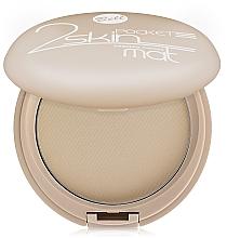 Parfémy, Parfumerie, kosmetika Matný kompaktní pudr - Bell 2 Skin Pocket Pressed Powder Mat
