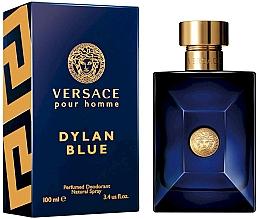 Parfémy, Parfumerie, kosmetika Versace Pour Homme Dylan Blue - Deodorant ve spreji