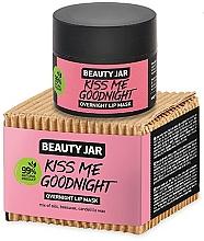 Parfémy, Parfumerie, kosmetika Noční maska na rty - Beauty Jar Kiss Me Goodnight Overnight Lip Mask