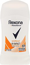 Parfémy, Parfumerie, kosmetika Tuhý deodorant antiperspirant - Rexona Motionsense Workout Hi-impact 48h Anti-perspirant