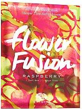Parfémy, Parfumerie, kosmetika Osvěžující látková pleťová maska s malínou - Origins Flower Fusion Raspberry Refreshing Sheet Mask