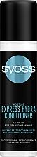 Parfémy, Parfumerie, kosmetika Expresní kondicionér s mízou z japonského javoru Kaede pro suché a oslabené vlasy - Syoss Moisture Express Hydra Conditioner