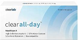 Parfémy, Parfumerie, kosmetika Kontaktní čočky, 3 ks - Clearlab Clear All-day