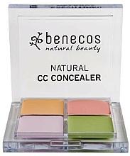 Parfémy, Parfumerie, kosmetika Paleta korektorů na obličej - Benecos Natural CC Concealer