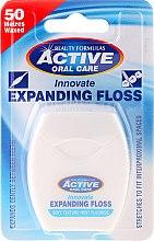 Parfémy, Parfumerie, kosmetika Měkká dentální nit s mátou a fluoridem - Beauty Formulas Active Oral Care Expanding Floss Mint With Fluor 50m