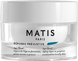 Parfémy, Parfumerie, kosmetika Antivěkový krém na kombinovanou a mastnou pleť - Matis Reponse Preventive Age-Mood