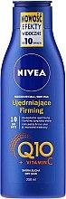 Parfémy, Parfumerie, kosmetika Zpevňující mléko na suchou plet' - Nivea Q10 + Vitamin C Body Lotion