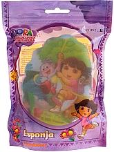 """Parfémy, Parfumerie, kosmetika Dětská houba """"Dora"""", 169-14, žlutá - Suavipiel Dora Bath Sponge"""