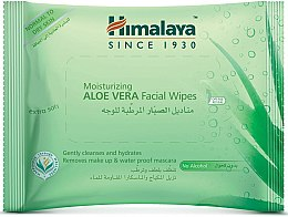 Parfémy, Parfumerie, kosmetika Hydratační pleťové ubrousky s aloe vera - Himalaya Moisturizing Aloe Vera Facial Wipes