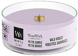 Parfémy, Parfumerie, kosmetika Vonná svíčka ve sklenici - Woodwick Petite Candle Wild Violet