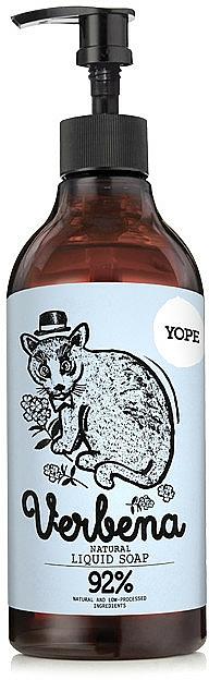 Tekuté mýdlo - Yope Verbena Natural Liquid Soap — foto N1