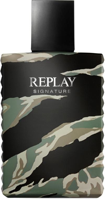 Replay Signature For Men Replay - Toaletní voda