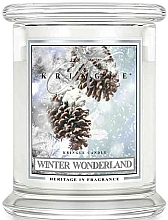Parfémy, Parfumerie, kosmetika Vonná svíčka ve skle - Kringle Candle Winter Wonderland
