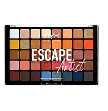 Parfémy, Parfumerie, kosmetika Paleta očních stínů - NYX Professional Makeup Escape Artist