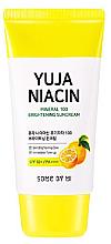 Parfémy, Parfumerie, kosmetika Zesvětlijící opalovací krém SPF50 + - Some By Mi Yuja Niacin Mineral 100 Brightening Suncream