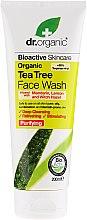 Parfémy, Parfumerie, kosmetika Čisticí gel na obličej s extraktem z čajového stromu - Dr. Organic Tea Tree Face Wash