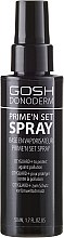 Parfémy, Parfumerie, kosmetika Fixační sprej - Gosh Donoderm Prime`n Set