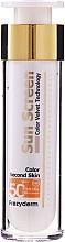 Parfémy, Parfumerie, kosmetika Opalovací krém na obličej - Frezyderm Sun Screen Color Velvet Face Cream SPF 50+