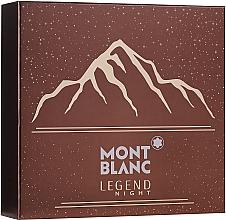 Parfémy, Parfumerie, kosmetika Montblanc Legend Might - Sada (edp/100ml + ash/balm/100ml + sh/gel/100ml)