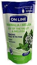 Parfémy, Parfumerie, kosmetika Tekuté mýdlo - On Line Lilly of The Valley & Melissa Creamy Hand Wash (náhradní náplň)