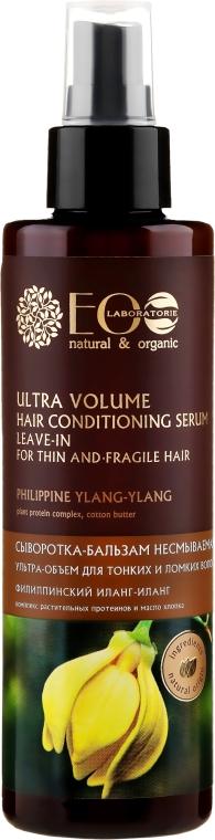 Sérum-balzám pro ultra objem tenkých a křehkých vlasů - ECO Laboratorie