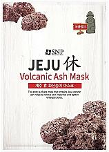 Parfémy, Parfumerie, kosmetika Čisticí pleťová maska se sopečným popelem - SNP Jeju Rest Volcanic Ash Mask