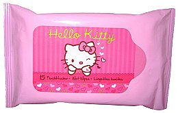 Parfémy, Parfumerie, kosmetika Vlhčené ubrousky - VitalCare Hello Kitty Wet Wipes