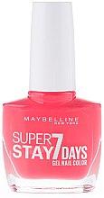 Parfémy, Parfumerie, kosmetika Lak na nehty - Maybelline Super Stay 7 Days Gel Nail Color