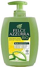 Parfémy, Parfumerie, kosmetika Tekuté mýdlo Aloe a citrón - Felce Azzurra BIO Aloe Vera & Lemon Liquid Soap