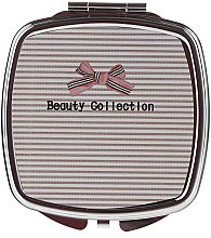 Parfémy, Parfumerie, kosmetika Čtvercové zrcátko 85635, pruhované - Top Choice Beauty Collection Mirror