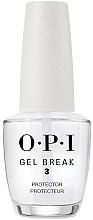 Parfémy, Parfumerie, kosmetika Báze na nehty - O.P.I Gel Break Protector Top Coat