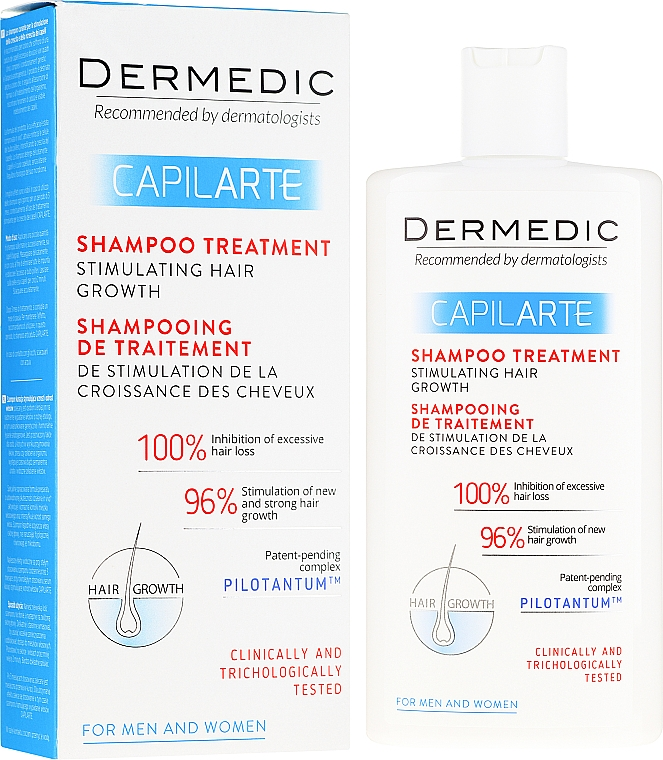 Šampon stimulující a obnovující růst vlasů - Dermedic Capilarte Shampoo