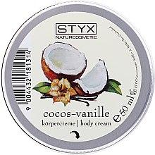 "Parfémy, Parfumerie, kosmetika Krém na tělo ""Kokos-Vanilka"" - Styx Naturcosmetics Cocos Vanille Body Cream"
