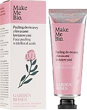 Parfémy, Parfumerie, kosmetika Peeling na obličej s květinovými kyselinami - Make Me Bio Garden Roses Face Peeling With Floral Acids