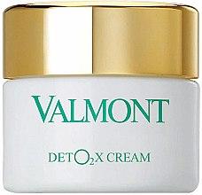 Parfémy, Parfumerie, kosmetika Kyslíkový krém-detox na obličej - Valmont Deto2x Cream