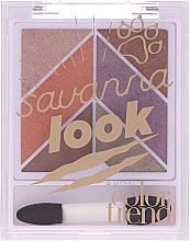 Parfémy, Parfumerie, kosmetika Paleta očních stínů - Avon Color Trend Savanna Look Eyeshadow Palette