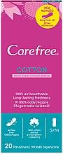 Parfémy, Parfumerie, kosmetika Denní hygienické vložky s vůní, 20ks - Carefree Cotton Fresh Scent