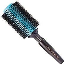 Parfémy, Parfumerie, kosmetika Kulatý dřevěný kartáč na vlasy s přírodními štětinami, 45 mm - Moroccanoil