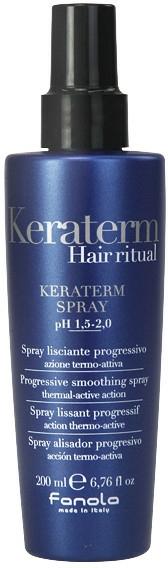 Sprej pro rekonstrukci poškozených vlasů - Fanola Keraterm Spray