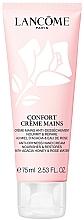 Parfémy, Parfumerie, kosmetika Krém pro hydrataci a obnovu pokožky rukou s medovým extraktem a růžovou vodou - Lancome Confort
