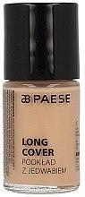 Parfémy, Parfumerie, kosmetika Lehký tonální krém s hedvábím pro suchou pokožku - Paese Long Cover